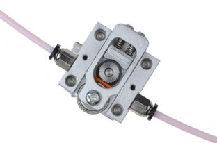 reprap bulldog extruder aluminium version for 1.75